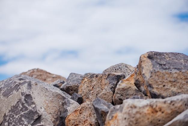 空と岩 無料写真