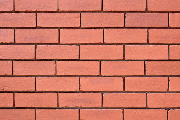 赤レンガの壁の背景のテクスチャ 無料写真