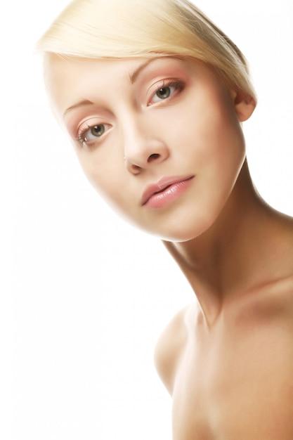 美しい若い女の子の肖像画 Premium写真