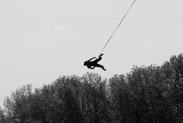 Девушка на веревке Бесплатные Фотографии