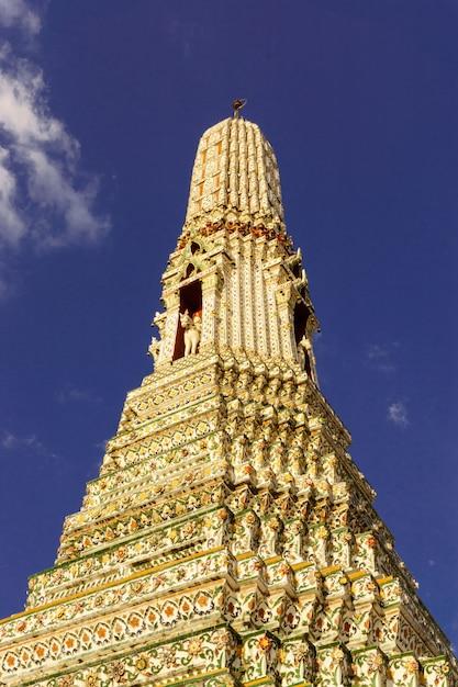 Ват арун пагода ориентир бангкок таиланд Бесплатные Фотографии