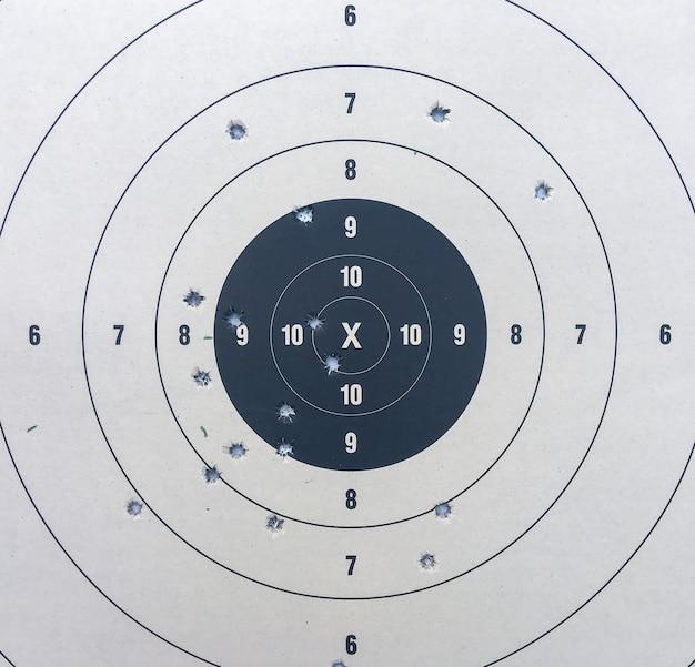 Бумага для стрельбы по мишеням Premium Фотографии