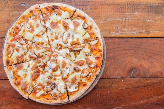 ベジタリアンピザ 無料写真
