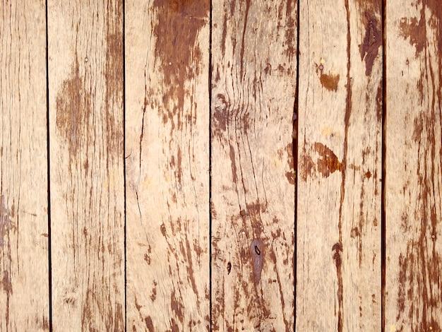 テンプレートのビンテージウッドスタイルの背景 Premium写真