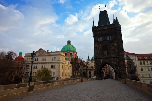 プラハのカレル橋 無料写真