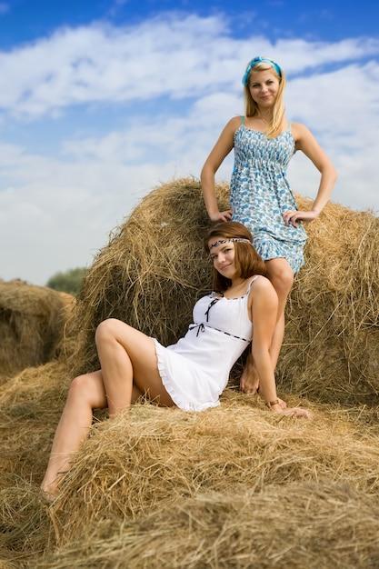 деревенские девушки  Сельский fashion: деревенские девушки и их мода