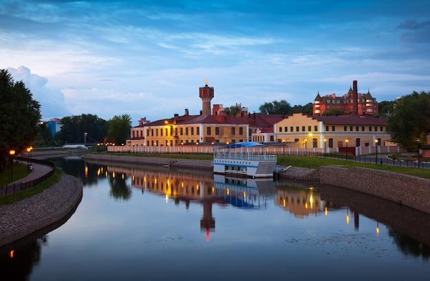 イヴァノヴォの夕方の眺め。ロシア 無料写真