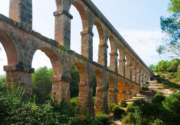 タラゴナのローマ水道 無料写真