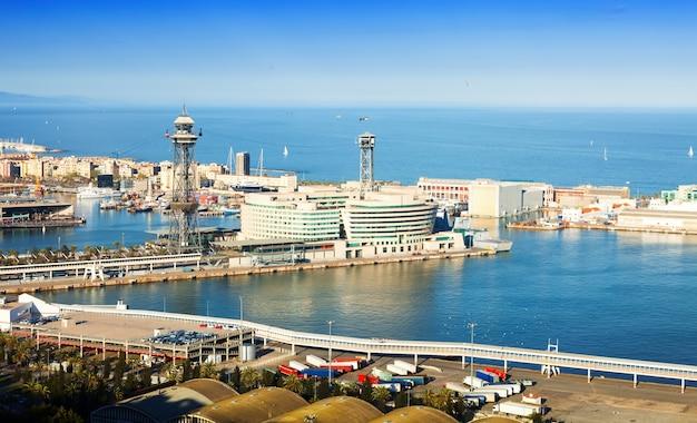バルセロナ港 無料写真