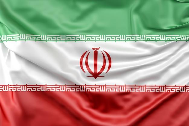 イランの国旗 無料写真