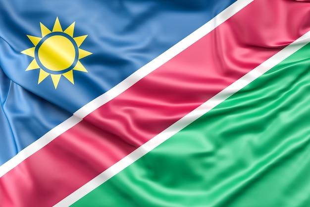 ナミビアの国旗 無料写真