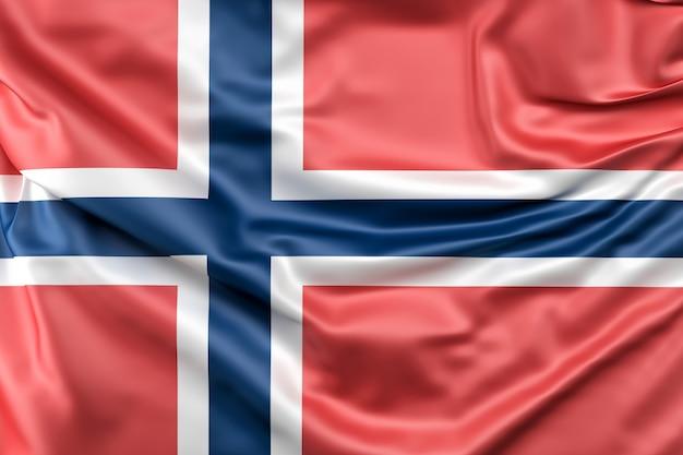 ノルウェーの国旗 無料写真
