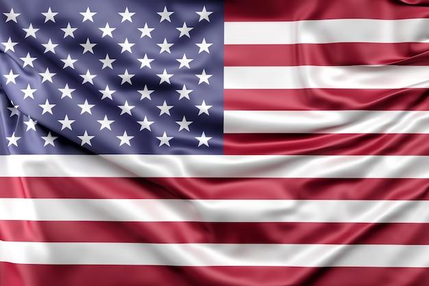 アメリカ合衆国の国旗 無料写真