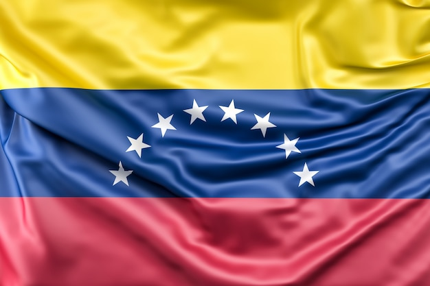 ベネズエラの国旗 無料写真
