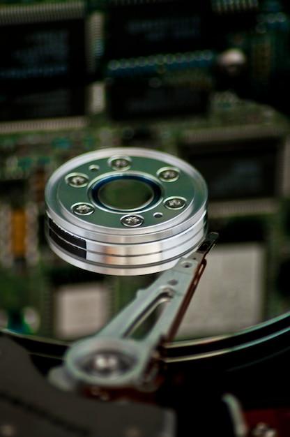 コンピュータのハードドライブ 無料写真