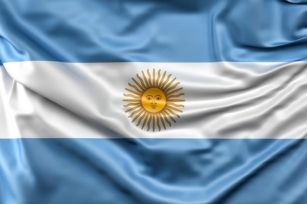 アルゼンチンの国旗 無料写真