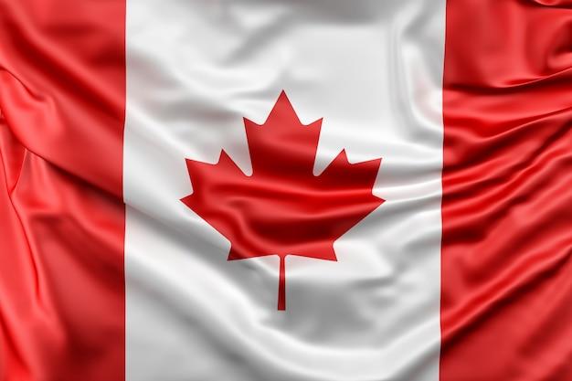 カナダの国旗 無料写真