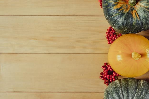 感謝祭のコンセプトの背景 Premium写真