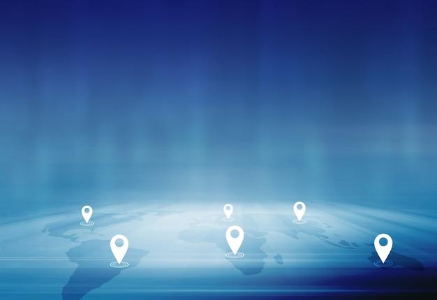 都市と国間の国際的なビジネスと取引の概念 Premium写真