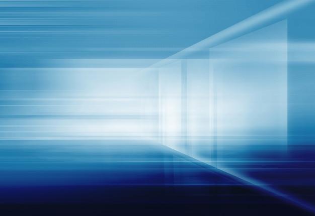 Абстрактный высокотехнологичный трехмерный космический фон Premium Фотографии