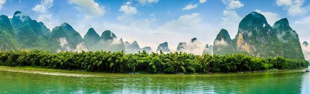 美しい景色ピーク緑のスカイライン中国 無料写真