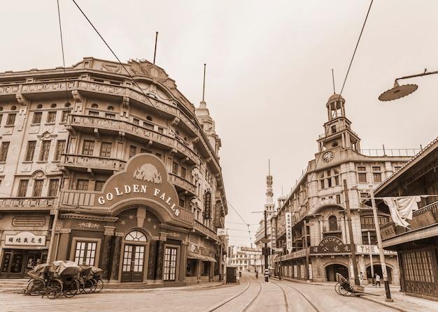Красивый старый вид на город Бесплатные Фотографии