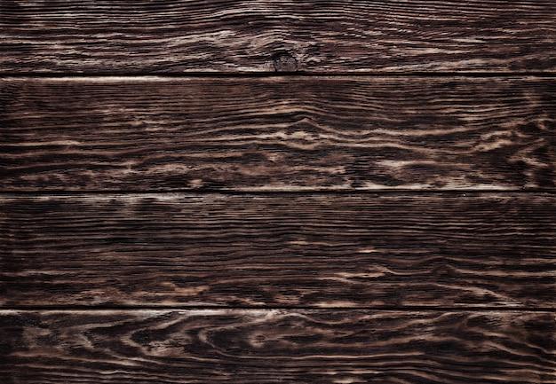 背景の古い茶色木目テクスチャ。 Premium写真