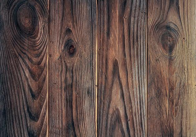 Текстура старых деревянных досок. Premium Фотографии
