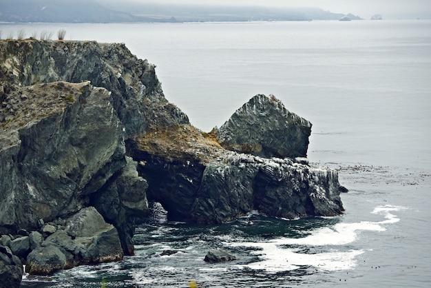 ロッキー海岸崖 無料写真