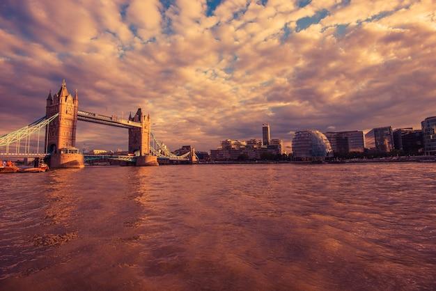 ロンドン川テムズ川 無料写真