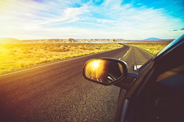 アリゾナ風景ドライブ 無料写真