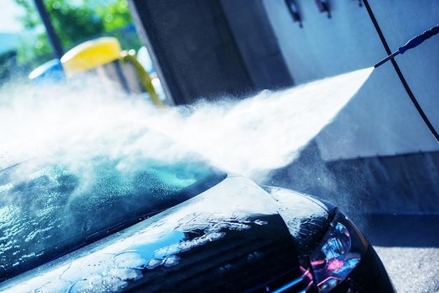 Очистка ручной мойки автомобилей Бесплатные Фотографии