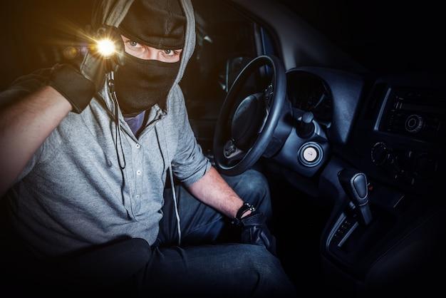 Автомобильный вор с вспышкой Бесплатные Фотографии