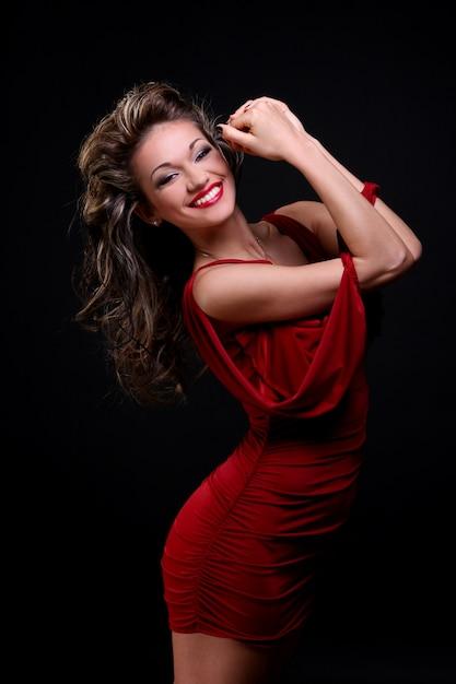 Красивая молодая женщина с макияжем Бесплатные Фотографии