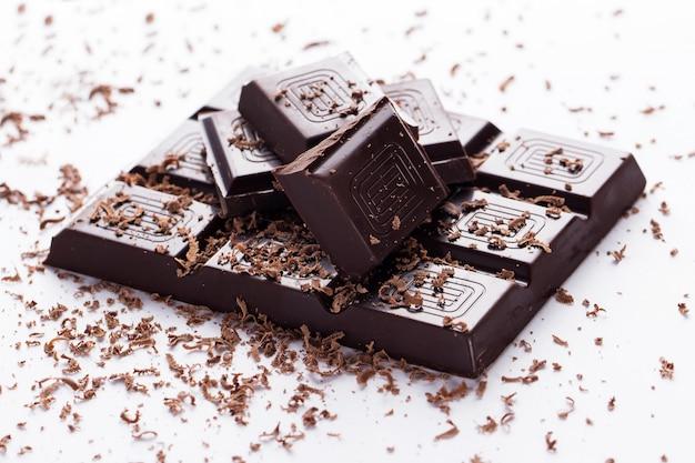 ダークチョコレートバー 無料写真