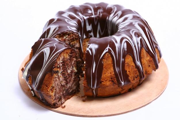 デザートフルーツケーキ 無料写真