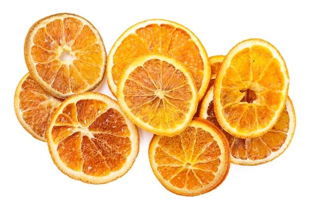 テーブルの上の乾燥オレンジ 無料写真