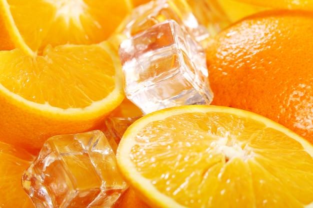 Марко свежих апельсинов Бесплатные Фотографии