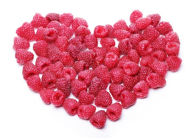Сердце из малины Бесплатные Фотографии