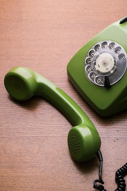 レトロな電話 無料写真