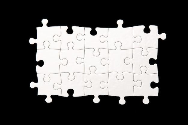 Белая головоломка Бесплатные Фотографии