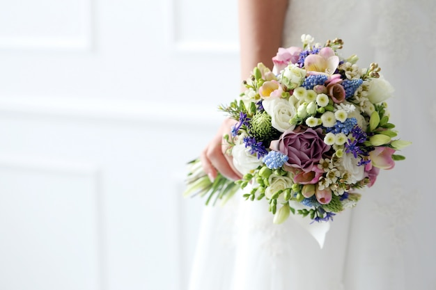 結婚式。美しい花嫁 無料写真