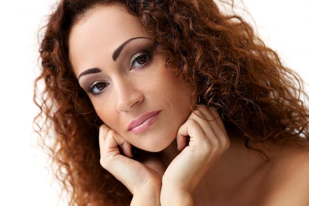 中年の魅力的な女性 無料写真
