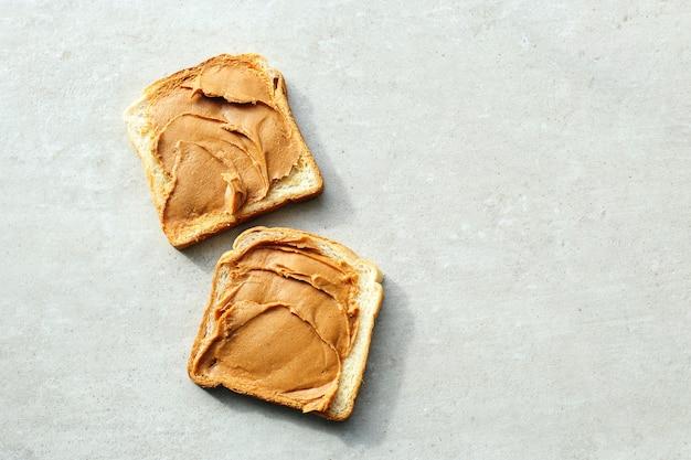 ピーナッツバターサンドイッチ 無料写真