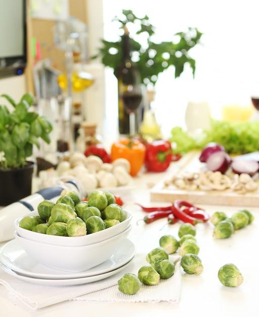 Здоровая еда на столе Бесплатные Фотографии