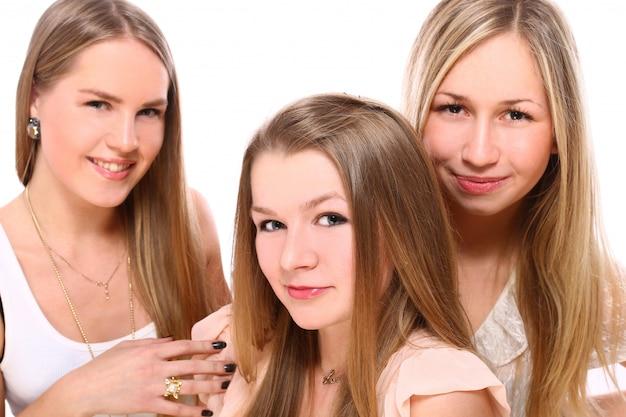 Группа молодых подруг Бесплатные Фотографии