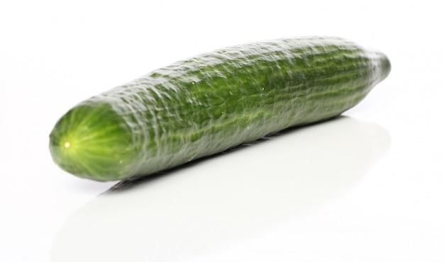 新鮮な緑のキュウリ 無料写真