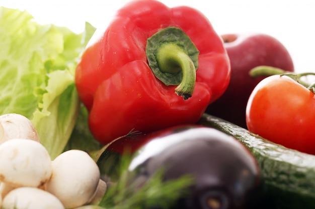 新鮮な野菜の山 無料写真