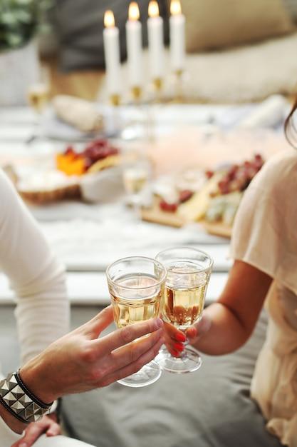 Тост с шампанским Бесплатные Фотографии