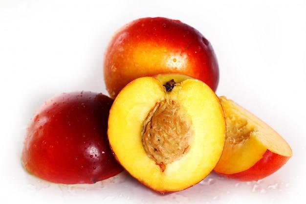 Свежие и влажные плоды никтарина Бесплатные Фотографии